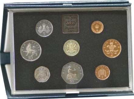 1983 Official Royal Mint Proof Set